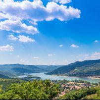 Visegrad, Danube River Bend, Hungary, Europe.
