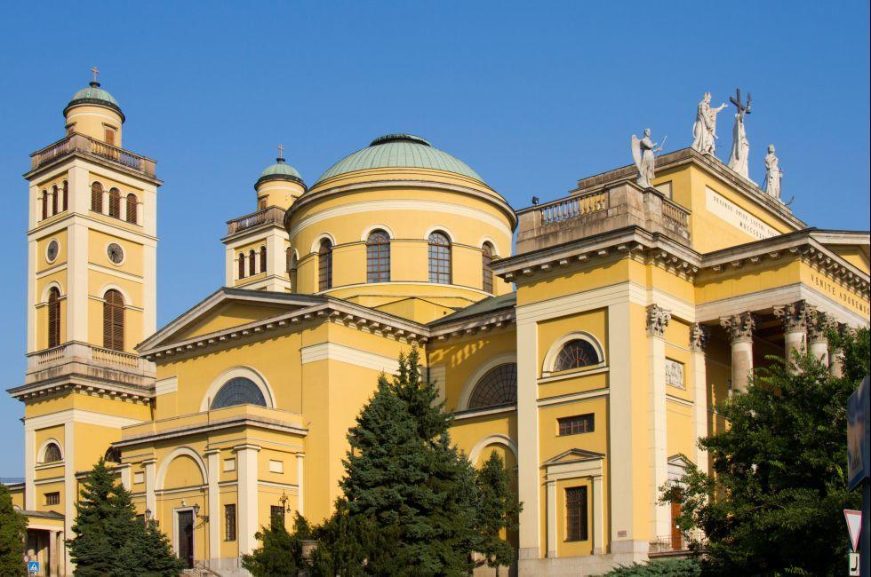 Bazilika, Eger, Hungary, Europe.