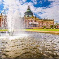 Neues Palais, Sanssouci Park, Potsdam, Germany, Europe.