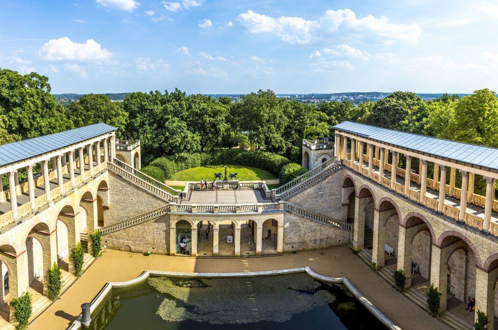 Belvedere auf dem Pfingstberg, Neuer Garten, Potsdam, Berlin, Germany, Europe.