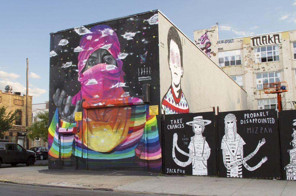 Street Art, Bushwick, Brooklyn, New York City, New York