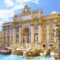 Trevi Fountain, Piazza di Spagna, Rome, Italy.