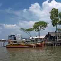 Boat, Docks, Village, Belawan, Indonesia