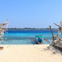 Beach, Fishing Boat, Lembar, Lombok, Indonesia