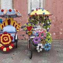 Rickshaw, Malacca, Malaysia