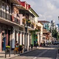 Mazniashvili Street, Old Town, Batumi, Georgia