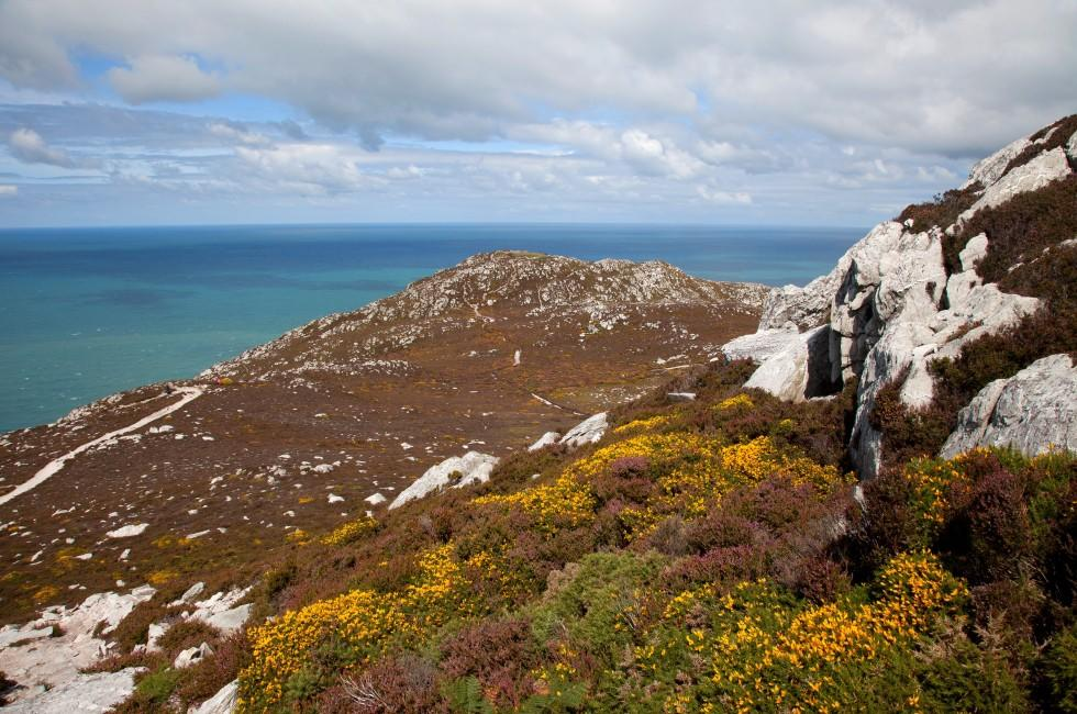 Holyhead Mountain, Isle of Anglesey, North Wales