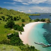 Boats, Beach, IKomodo National Park, Komodo, Indonesia