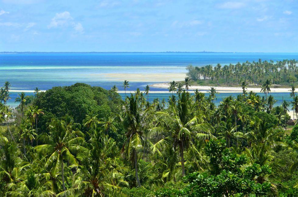 Beach, Mozambique, Africa