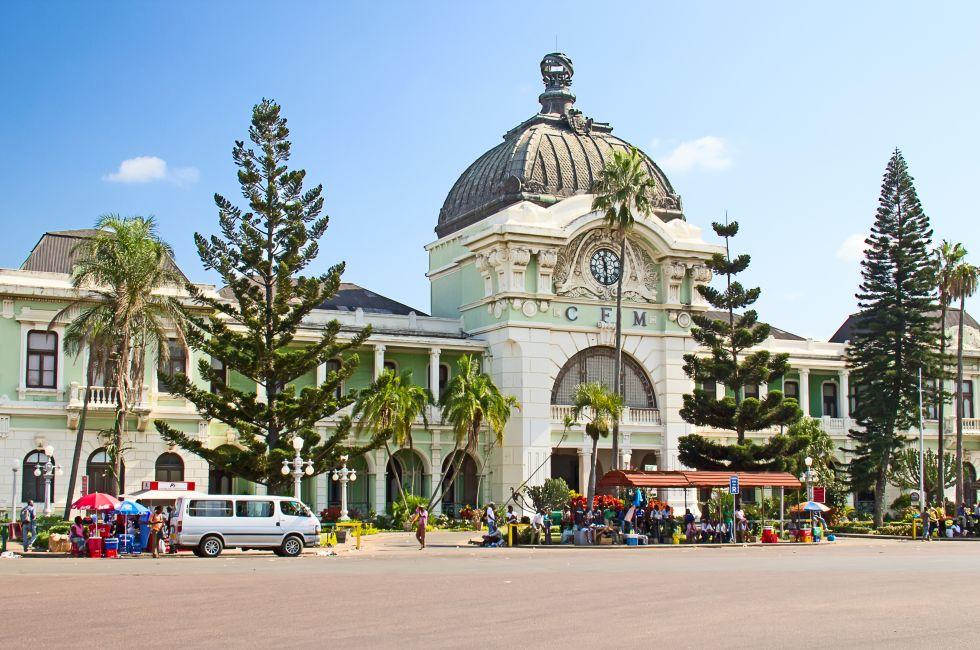 Central Train Station, Maputo, Mozambique