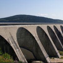 Daniel-Johnson Dam, Baie Commeau, Quebec, Canada