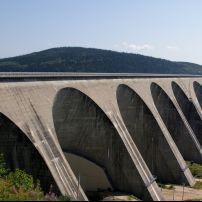 Daniel-Johnson Dam, Baie Commeau, Quebec, Canada