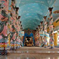 Cao Dai Temple, Danang, Vietnam