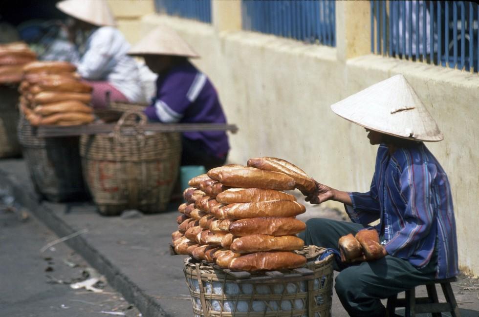 Bread, Market, Ho Chi Minh City, Vietnam