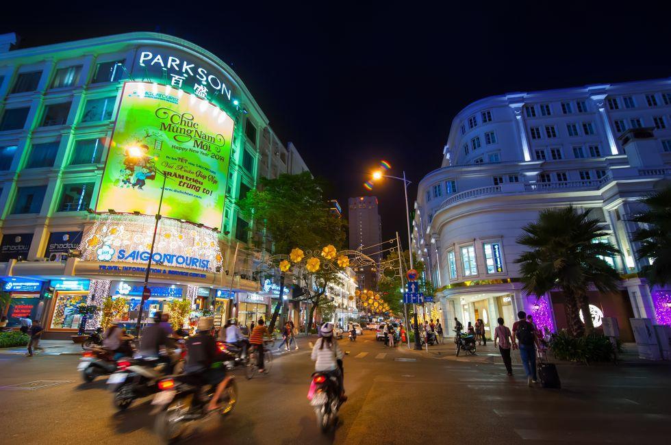 Motorbikes, Ho Chi Minh City, Vietnam