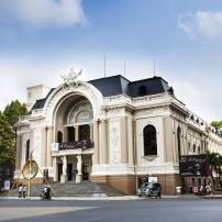 Street, Saigon Opera House, Ho Chi Minh City, Vietnam