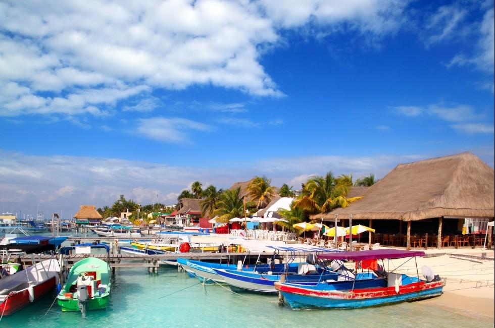 Dock, Isla Mujeres Island, Cancun, Mexico
