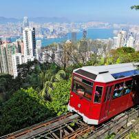Victoria Peak and the Victoria Peak Tram, Hong Kong, China
