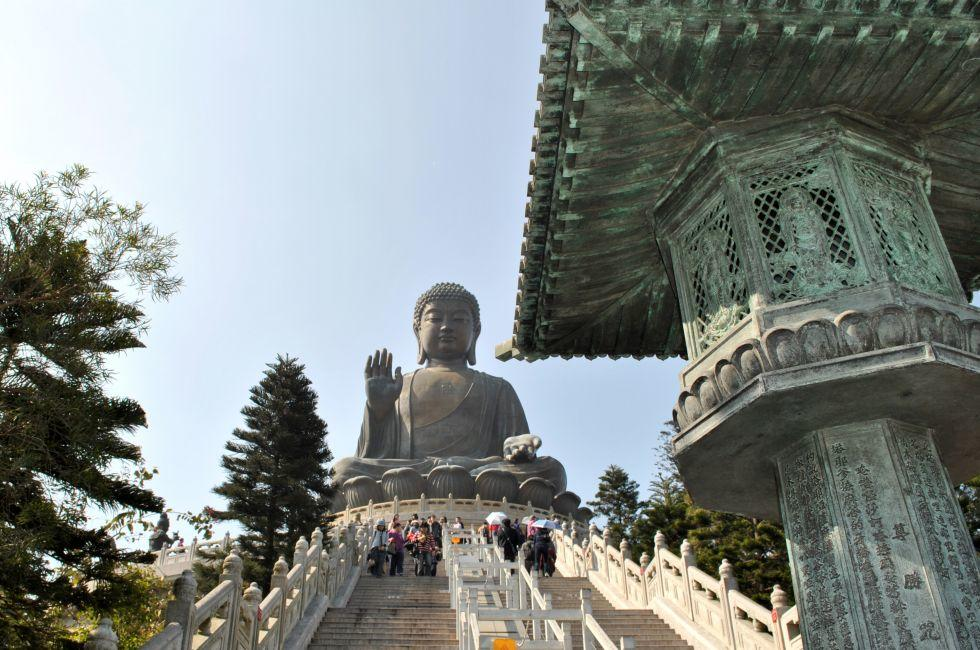 Tian Tan Buddha, Hong Kong, China
