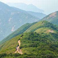 Hiking Trail, Dragon's Back, Hong Kong, China, Asia