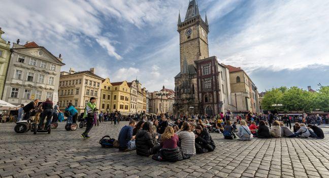 Old Town Hall, Staroměstská radnice, Stare Mesto (Old Town), Prague, Czech Republic, Europe.