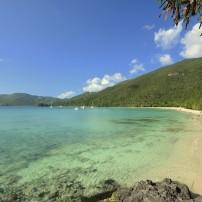 Beach, Coastline, Lagoon, Brewers Beach, St. Thomas, USVI, Caribbean