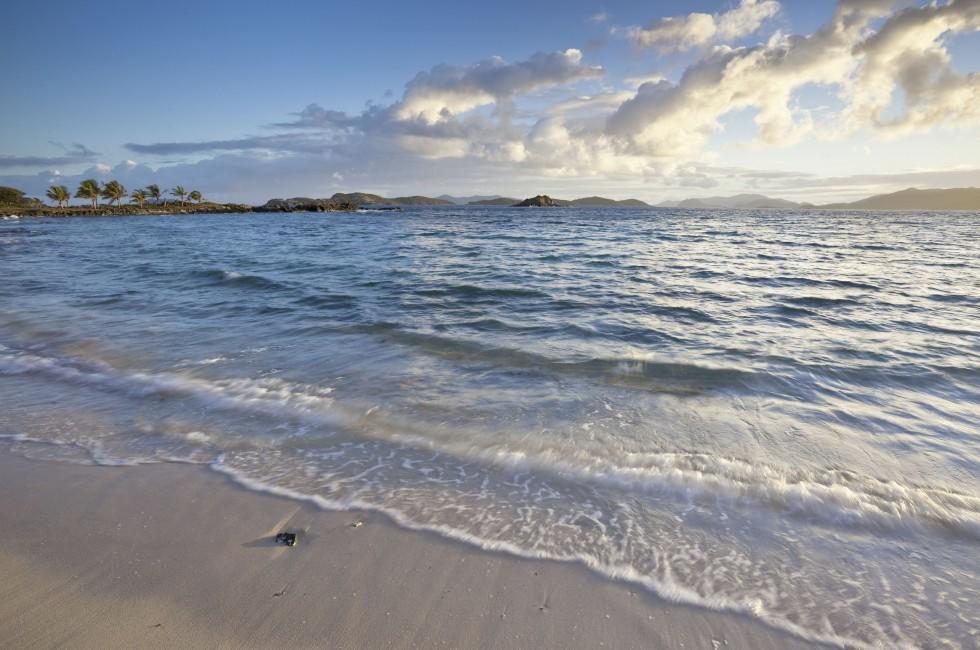 Beach, Sunrise, Sapphire Bay, St. Thomas, USVI, Caribbean