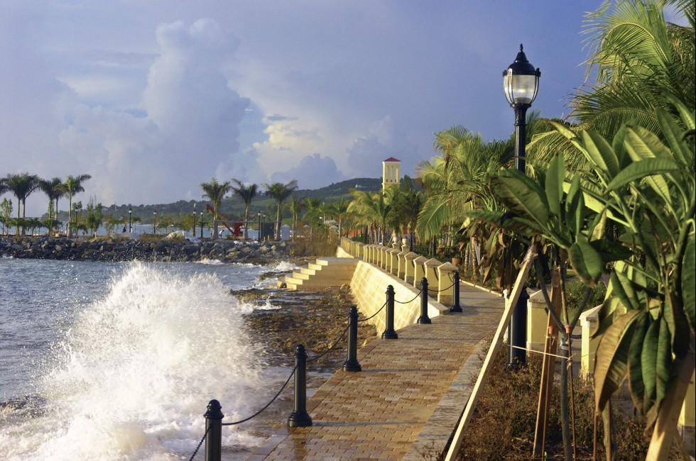 Waterfront, Fredriksted, St. Croix, U.S. Virgin ISlands