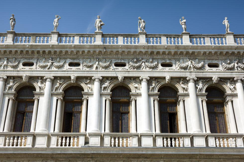 Biblioteca Nazionale Marciana, San Marco, Venice, Italy.