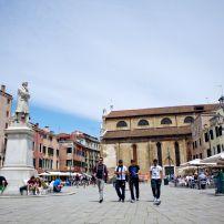 Campo Santo Stefano, San Marco, Venice, italy.