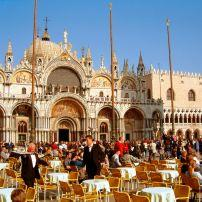 Restaurant, San Marco Square, Venice, Italy