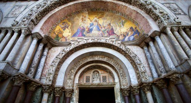 Saint Mark's Basilica, San Marco, Venice, Italy.