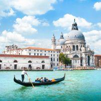 Basilica di Santa Maria della Salute, Dorsoduro, Venice, Italy.