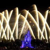 Fireworks, Magic Kingdom, Walt Disney World, Orlando, Florida, USA