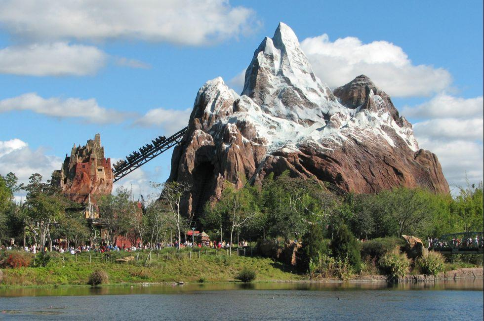 Expedition Everest, Disney's Animal Kingdom, Walt Disney World, Orlando, Florida, USA