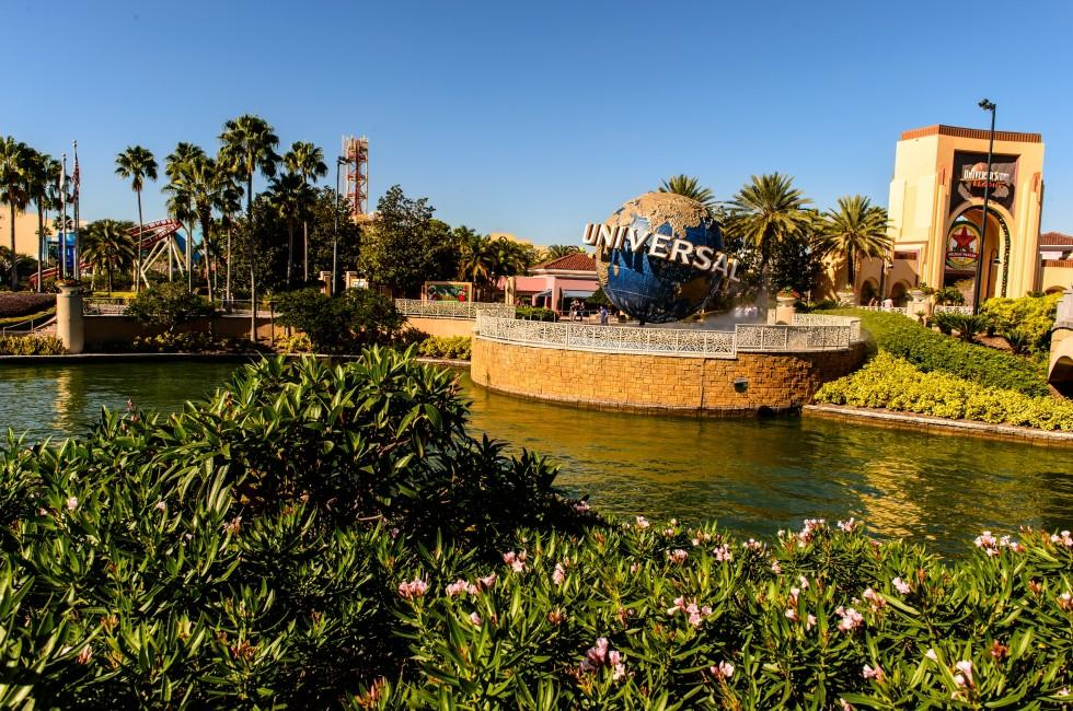Amusement Park, Universal Orlando, Florida, USA