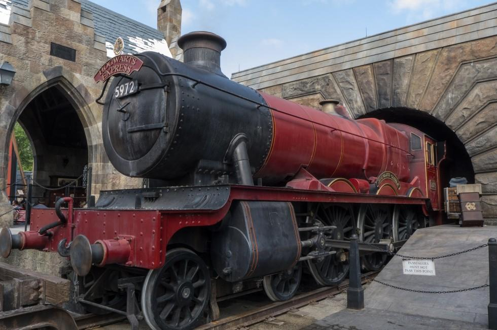 Hogwarts Express, Wizardly World of Harry Potter, Universal Studios, Orlando, Florida, USA