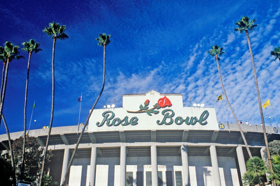 Rose Bowl, Pasadena and Environs, Los Angeles, California, USA