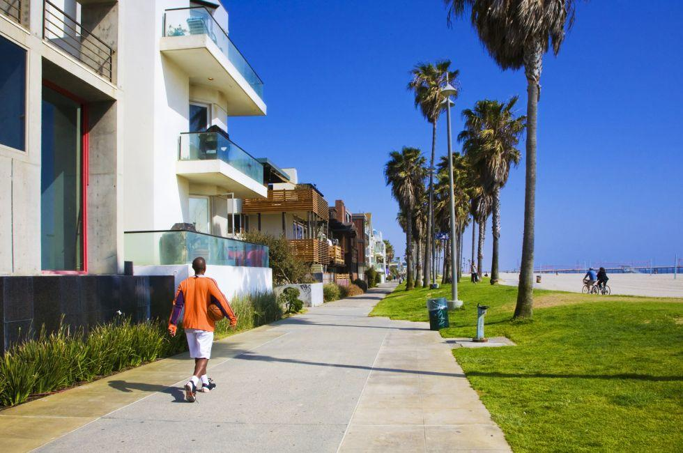 Venice Beach, Santa Monica, Venice, and Malibu, Los Angeles, California, USA