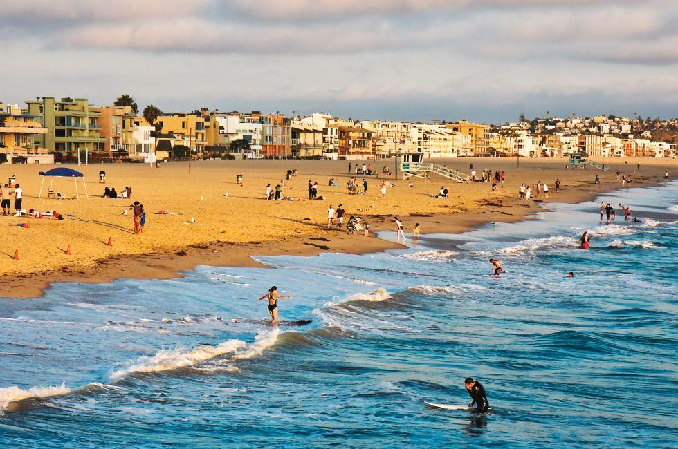 Venice Beach, Venice, Santa Monica, Venice, and Malibu, Los Angeles, California, USA.
