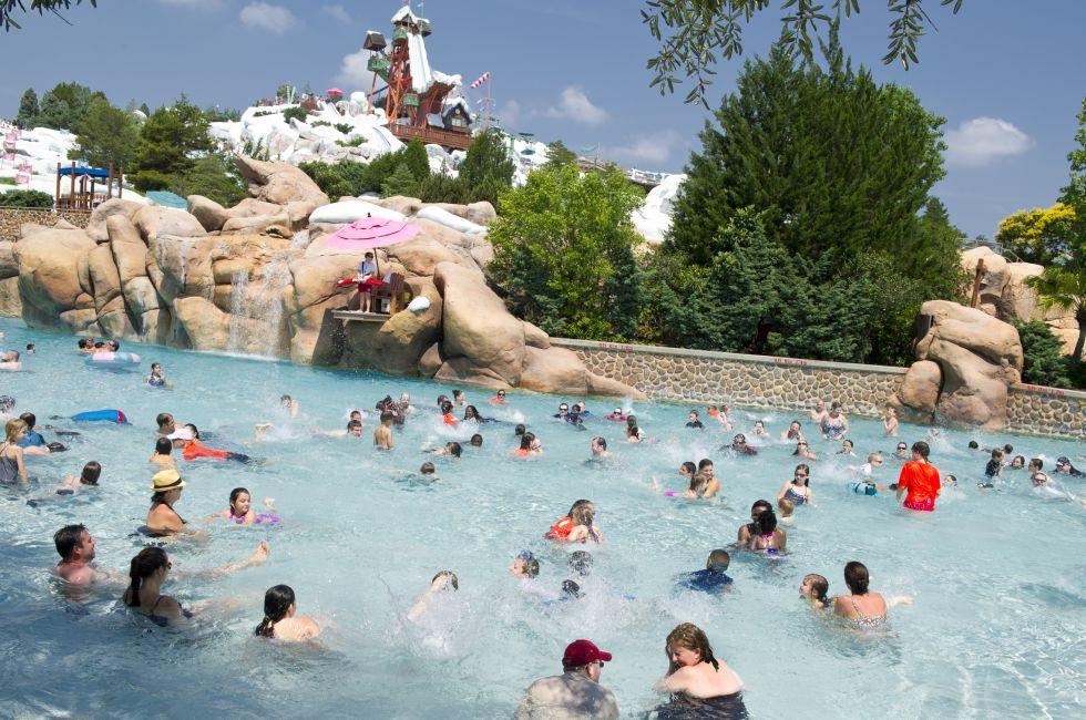 Blizzard Beach, Walt Disney World, Orlando, Florida, USA