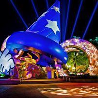 Sorcerer's Hat, Disney's Hollywood Studios, Walt Disney World, Orlando, Florida, USA