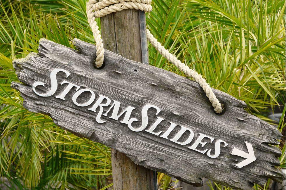 Storm Slides, Walt Disney World, Orlando, Florida, USA