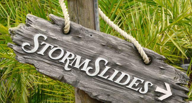 Storm Slides, Walt Disney World, Orlando, Florida, USA