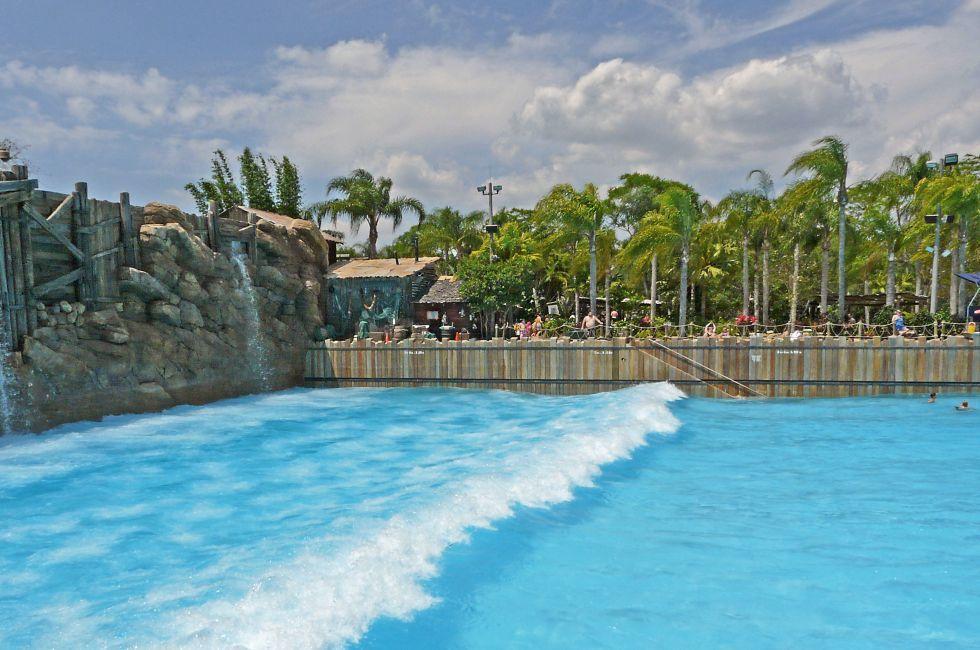 Typhoon Lagoon Surf Pool, Walt Disney World, Orlando, Florida, USA