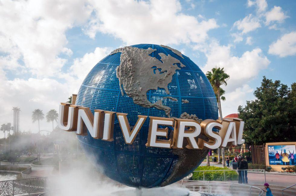 Universal Globe, Universal Studios, Orlando, Florida