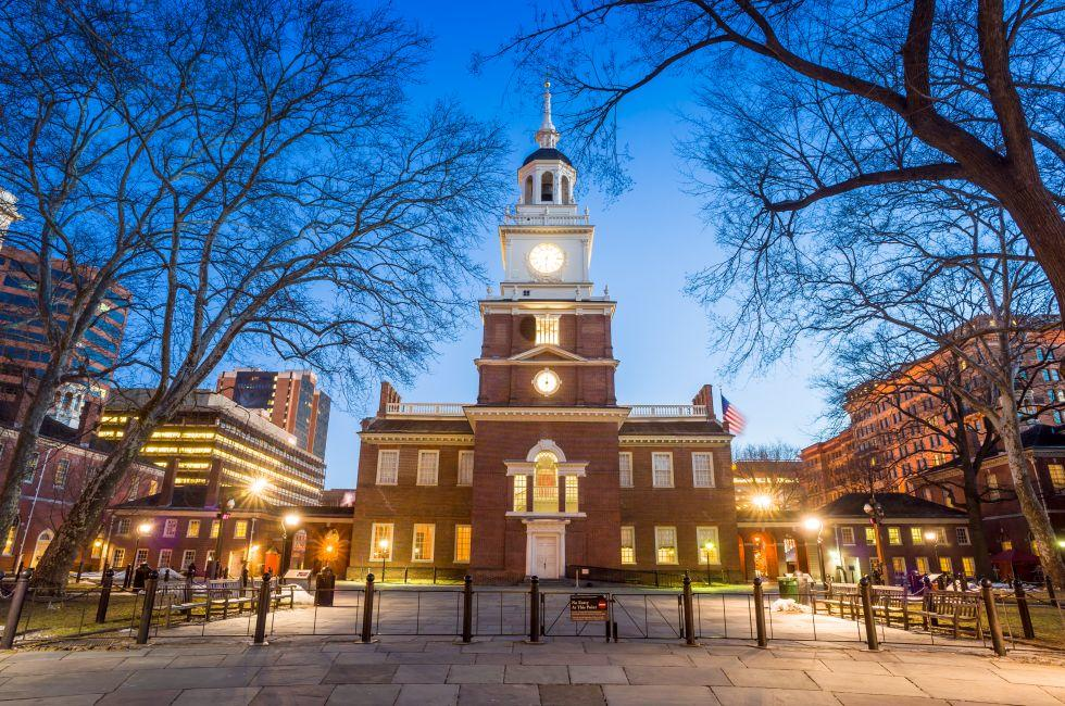 Independence Hall, Old City, Philadelphia, Pennsylvania, USA, North America