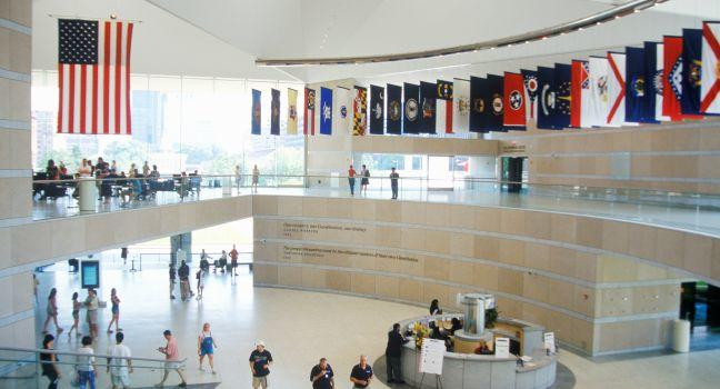 National Constitution Center, Old City, Philadelphia, Pennsylvania, USA, North America