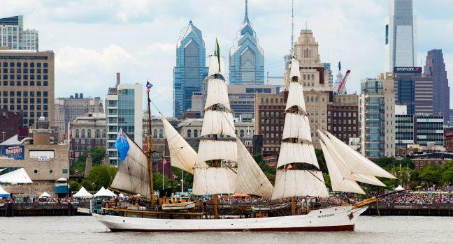 Independence Seaport Museum, Penn's Landing, Philadelphia, Pennsylvania, USA.