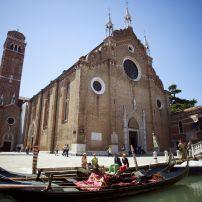 Santa Maria Gloriosa dei Frari, San Polo, Venice, Italy.